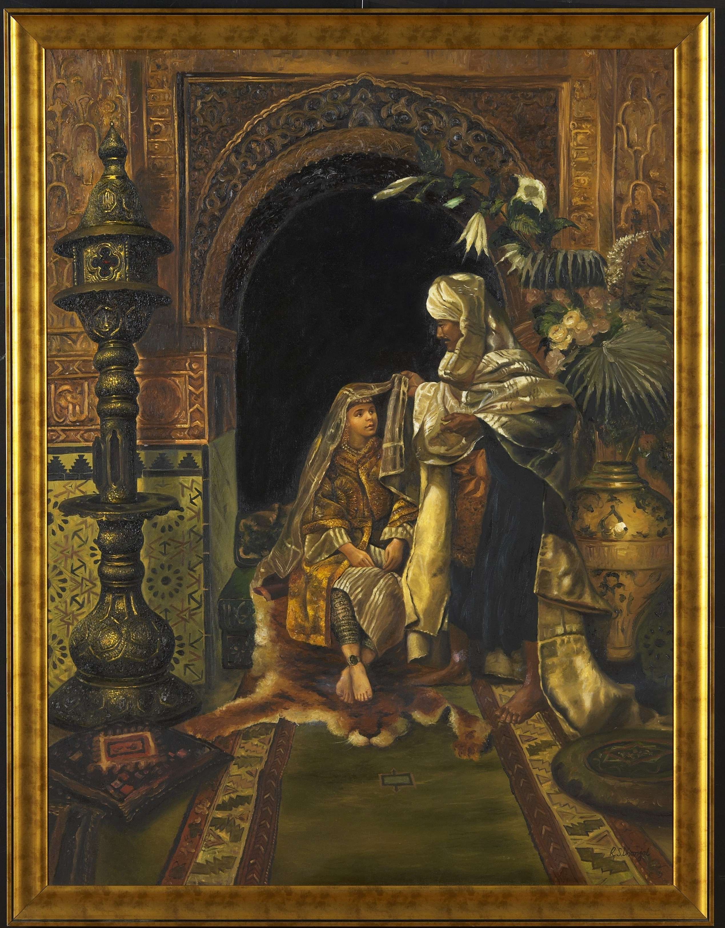 Middle Eastern Oil Paintings