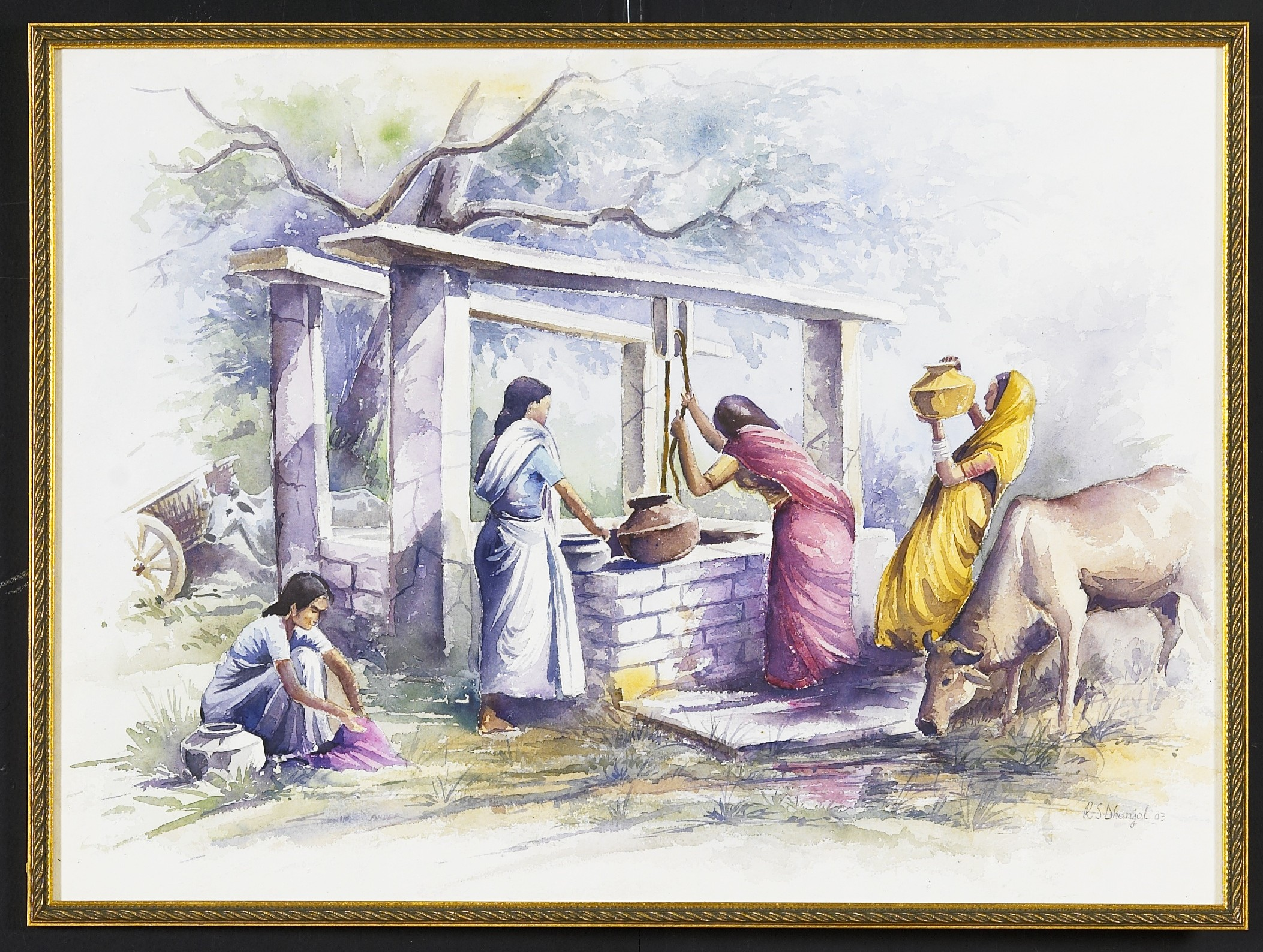 Water Colour Museum Style Paintings
