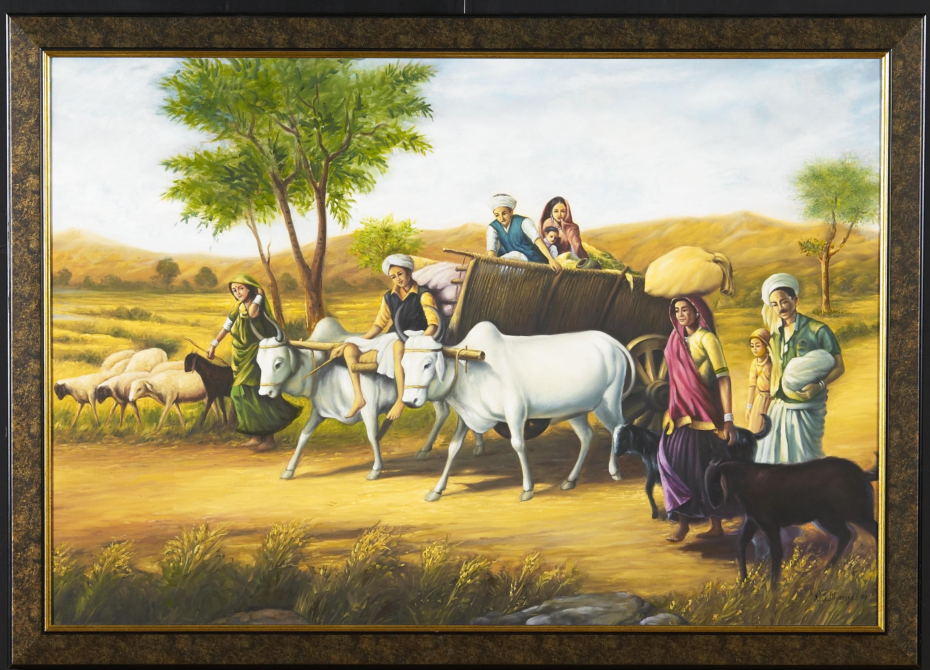 village lifestyle in hindi language